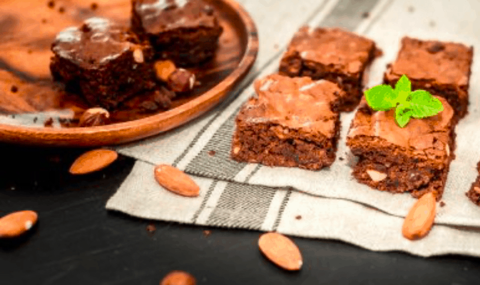 Fudgy Avocado Chocolate Brownie