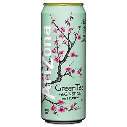 Benefits of Arizona green tea with ginseng and honey