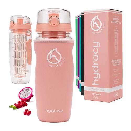 hydracy infusion water bottle