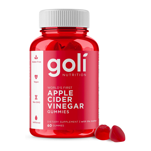 weight loss gummies by goli nutrition